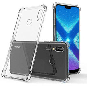 Tarkan Soft Transparent Back Cover For Honor 8X