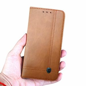 Tarkan Vegan Leather Back Stand Flip Case for Nokia 6.1 plus