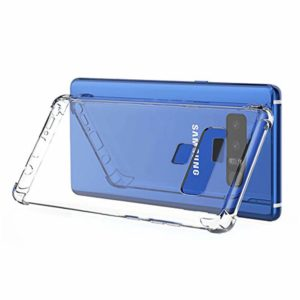 Tarkan Soft Transparent Back Cover for Samsung Galaxy Note 9