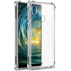 Tarkan Shock Proof Protective Soft Transparent Back Cover For Huawei P20 Lite