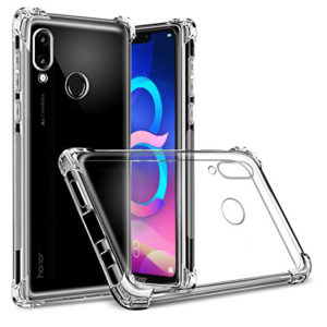 Tarkan Soft Transparent Back Cover For Honor 8C