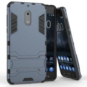 Tarkan Armor Kickstand Back Case Cover for Nokia 6