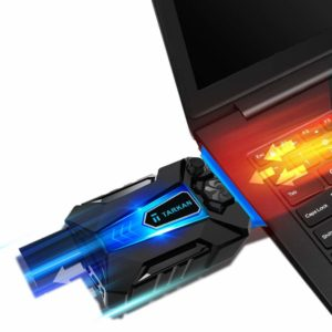 Tarkan USB Powered Portable Laptop Cooler [Hot Air Extraction]