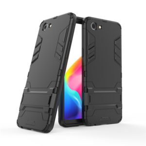 TARKAN Heavy Duty Shockproof Armor Kickstand Back Case Cover for Oppo Realme 1