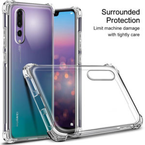 Tarkan Shock Proof Soft Transparent Back Cover For Huawei P20 Pro