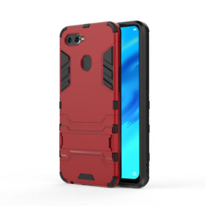 TARKAN Heavy Duty Shockproof Armor Kickstand Back Case Cover for Oppo Realme 2 Pro