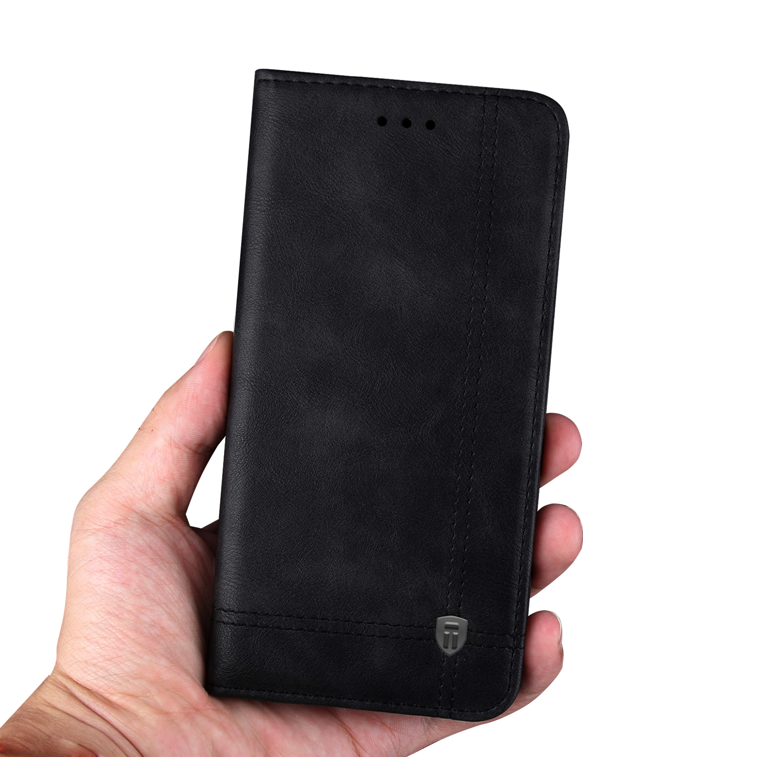 pretty nice 5f816 5f4ed Tarkan Vintage Xiaomi Pocophone F1 Flip Cover - Vegan Leather Back Stand  Wallet Case with Card Slot for Poco F1