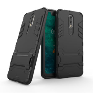 Tarkan Armor Kickstand Back Case Cover For Nokia 5.1 Plus