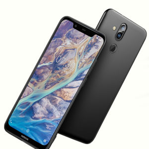 Tarkan Soft Back Case Cover for Nokia 8.1