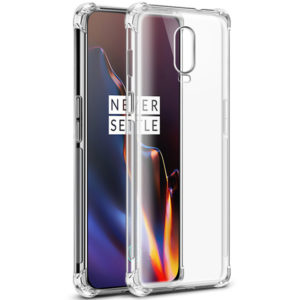 Tarkan Shock Proof Soft Transparent Back Cover For OnePlus 6T