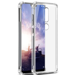 Tarkan Soft Transparent Back Cover For Nokia 6.1 Plus
