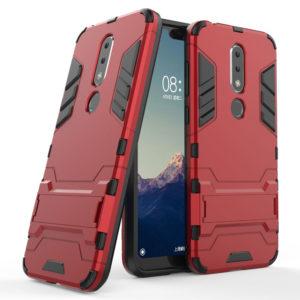 Tarkan Armor Kickstand Back Case Cover for Nokia 6.1 Plus