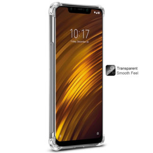 Tarkan Shock Proof Protective Soft Transparent Back Cover For Xiaomi Pocofone 1