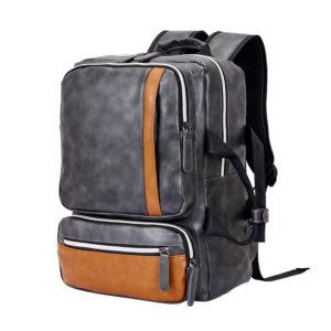 Tarkan Vegan Leather Compact 13-15 Inch Laptop Bag