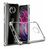 Tarkan Shock Proof Soft Transparent Back Cover for Moto X4