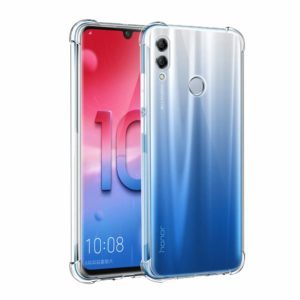 Tarkan Shock Proof Soft Transparent Back Cover for Honor 10 Lite