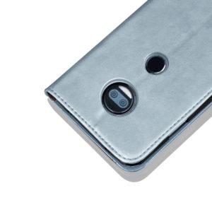 Tarkan Leather Wallet Back Case For Moto E5 Plus