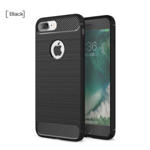 Tarkan Carbon Brush Back Cover For  iPhone 7 Plus & iPhone 8 Plus