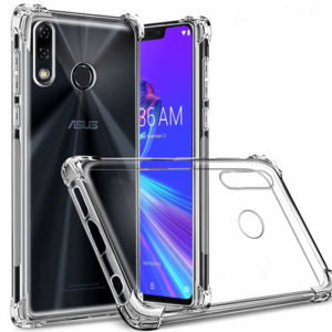 Tarkan Shock Proof Soft Transparent Back Cover Asus Zenfone Max Pro M2