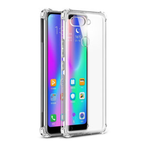 Tarkan Shock Proof Soft Transparent Back Case for Honor 9N