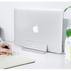 Tarkan Vertical Laptop Stand for Desk, Notebook, MacBook.