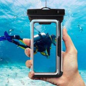 Tarkan Waterproof Pouch for Mobile Phones Up to 6.5 Inch(2 Pack)