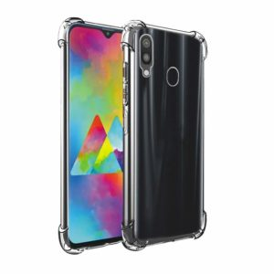 Tarkan Shock Proof Soft Transparent Back Cover For Samsung Galaxy M20