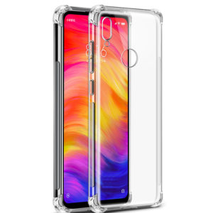 Tarkan Shock Proof Soft Transparent Back Cover for Redmi Note 7 Pro/Redmi Note 7