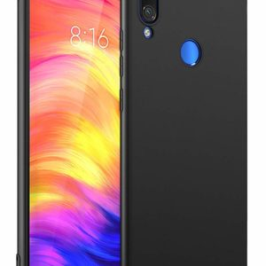 Tarkan Royal Ultra Slim Flexible Soft Back Case Cover for Redmi 7 360 Degree Coverage (Black)