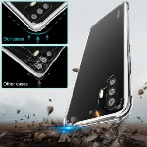 Tarkan Shock Proof Protective Soft Transparent Back Case Cover for Huawei P30 Pro [Bumper Corners with Air Cushion Technology] Crystal Clear