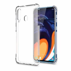 Tarkan Shockproof Protective Soft Back Case Cover for Samsung Galaxy M40 (Transparent)