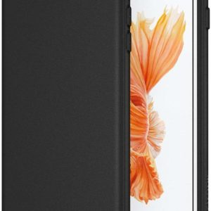 GoRogue Ultra Slim Soft Bumper Protective Back Case Cover for iPhone 7 Plus (Jet Black)