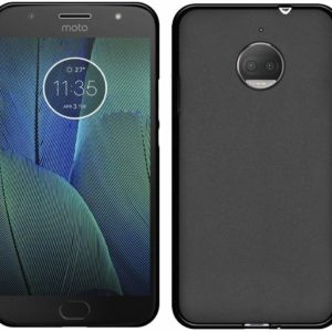GoRogue Armour Pudding TPU 360 Degree Protective Back Cover for Moto G5S Plus (Black)