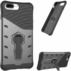 Tarkan Sniper Protective Kickstand Back Case Cover for OnePlus 5 (Grey)