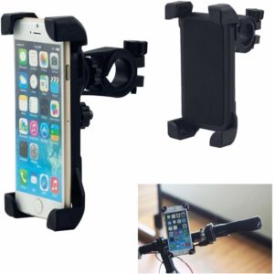 TARKAN™ Adjustable 360 Degree Bike/Bicycle Handlebar Mount Universal Mobile Phone Holder [Black]