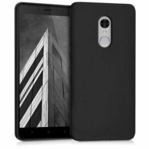 Tarkan Royal Ultra Slim Flexible Soft Back Case Cover for Xiaomi Redmi Note 4 (Matte Black)