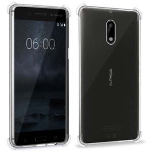 Tarkan Nokia 6 Back Cover – Shock Proof Protective Soft Transparent Back Case For Nokia Six Android Phone [Bumper Corners with Air Cushion Technology]