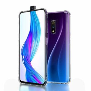Tarkan Shock Proof Protective Soft Back Case Cover for Oppo K3 (Transparent) [Bumper Corners with Air Cushion Technology]