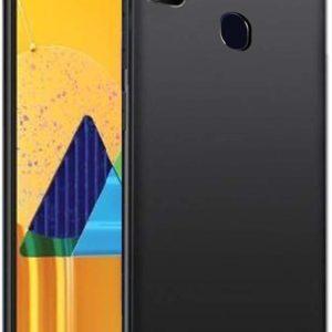 Tarkan Royal Ultra Slim Flexible Soft Back Case Cover for Samsung Galaxy M21 (Black) 360 Degree Coverage
