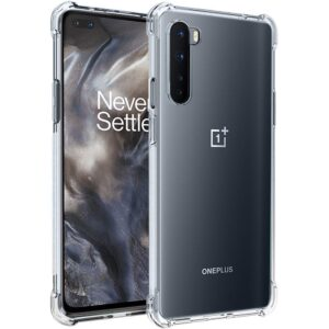 Tarkan Shock Proof Protective Soft Back Case Cover for OnePlus Nord (Transparent) [Bumper Corners with Air Cushion Technology]