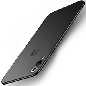 Tarkan Royal Slim Flexible Soft Back Case Cover for Vivo V9 / V9 Pro [Matte Black]