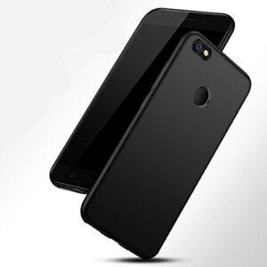 TARKAN Silicone Back Cover for Redmi Y1 -black