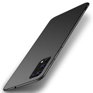 Tarkan Royal Slim Flexible Soft Back Case Cover for Realme X7 Pro 5G (Black) 360 Degree Coverage