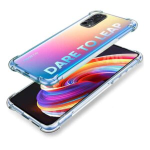 Tarkan Shock Proof Protective Soft Back Case Cover for Realme X7 Pro 5G (Transparent) [Bumper Corners with Air Cushion Technology]